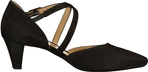 noir escarpins croisées femmes Callow modernes bretelles pour Gabor à qw8P5XS