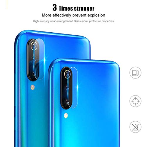 UGI 3 Pack Camera Lens Protective Film Tempered Film Glass Protector for Samsung Galaxy A50 A70
