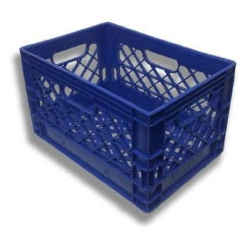 Farmplast 24 Qt Milk Crate, Blue
