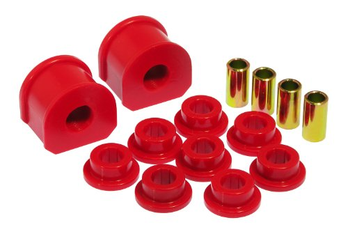 Performance 22mm Rear Sway Bar (Prothane 6-1143 Red 22 mm Rear Sway Bar Bushing Kit)