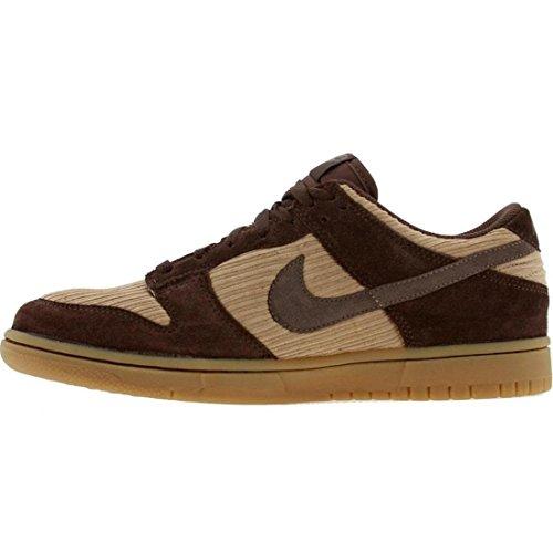 Nike Mens Dunk Låg Cl Ankel-hög Basket Sko Barock Brun / Lera-lt Choklad