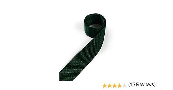 1buy3 Cinta de Polipropileno de 25 mm de Ancho, 4 Metros de Largo, Color: 20 - Verde Musgo | también de 20mm, 30mm, 40mm o 50mm de Ancho | en 4 o 12 Metros ...