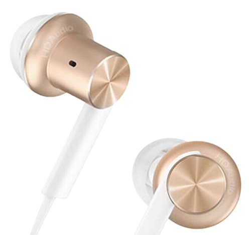 Xiaomi QTER02JY Mi Hybrid Earphone in-Ear Headphones Multi-Unit Circle Iron Mixed Piston Earphones, Gold
