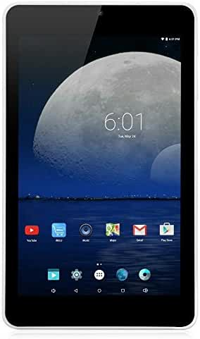 Yuntab T7 7 inch Google Android 4.4 Tablet Wifi 512MB+8GB Allwinner A33 Tablet PC Quad-Core ARM Cortex A7 CPU1.5GHz IPS 1024x600 Touch Screen TF Card Up to 32GB 3D-GSENSOR Tablet (Black)