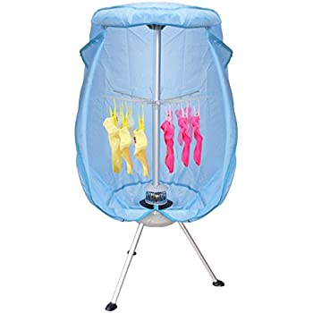 Attractive ZENY Collapsible Round Portable Clothes Dryer 900W Heater Folding Drying  Machine W/Heat Lightweight