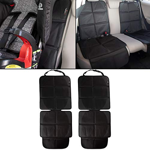 Teknon (2 Pack) Car Seat Protector Baby Infant Car Seat Covers for Babies Booster Seat Travel Accessories for The Car Seats Set