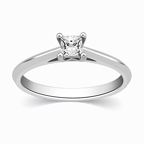 0.38 Ct Princess Diamond - 6