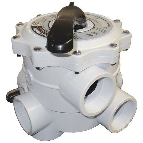 Hayward SP0715ALL Pro-Series Vari-Flo Side-Mount Control Valve, White by Hayward