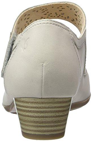 Caprice 24300, Sandalias con Cuña para Mujer Gris (Lt Grey Nubuc)