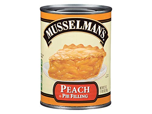 (Musselman's Peach Pie Filling Pack of 2 Cans)