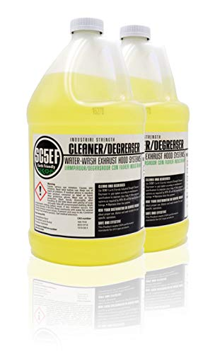 Surfactant Industrial Strength Cleaner & Degreaser for Restaurant Self Cleaning Exhaust Hood Systems (2 Gallons) (Used Restaurant Exhaust Hood)
