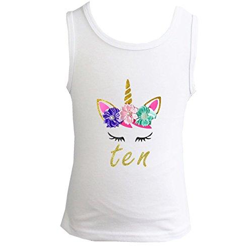 - Kirei Sui Girls Birthday Unicorn Top 150 10th