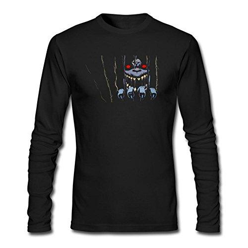 VEBLEN Men's Thundercats Long Sleeve Cotton T Shirt (Cat Suite)