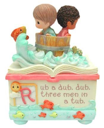 Moments Rub (Precious moment memory box Rub-a-dub-dub Precious Moments4395d)