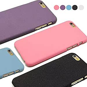 YULIN Drift Sand Hard Case PC Back Cover for iPhone 6(Assotted Color) , White