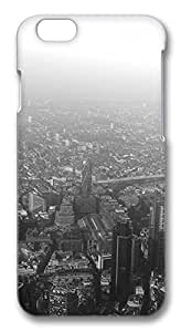 London Aerial Black White Protective Snap-on Hard Case Back Cover Protector Slim Rugged Shell Case For iPhone 6 (4.7 inch) in DDJK Case