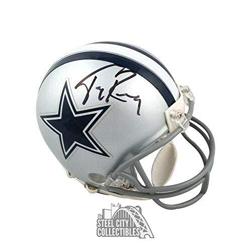 3658ccc14d8 Signed Tony Romo Helmet - Mini BAS COA - Beckett Authentication - Autographed  NFL Mini Helmets