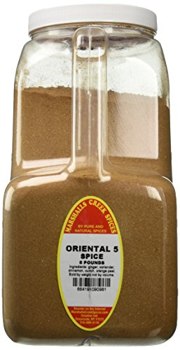 Marshalls Creek Spices Oriental Five Spice Seasoning, 6 Pound by Marshall's Creek Spices