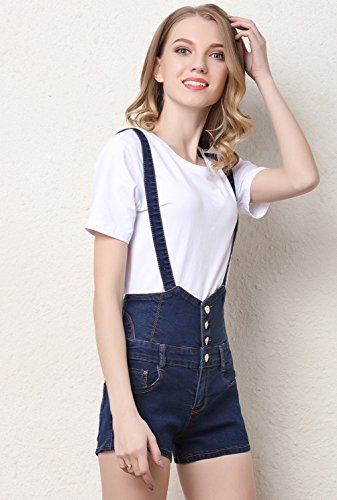 Blu le Estate Da Shorts Bottoni Corta Salopette Donne Casual 2018 Vita tienew In Sexy Di Jeans Pants Corti Denim Con Jean Hot Alta Donna Jeans qSp1P