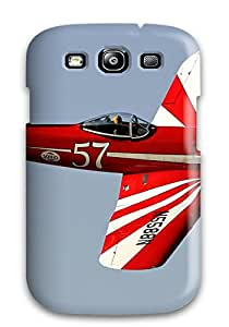 Excellent Design Aircraft Phone Case For Galaxy S3 Premium Tpu Case
