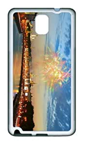 wholesale cover Firework Moscow TPU White case/cover for samsung galaxy note 3 N9000