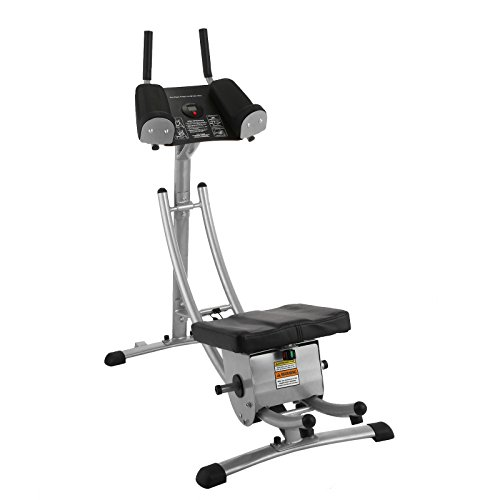 Popsport Abdomen Machine 330LBS Abdominal Coaster Abdomen Exercise Equipment with Adjustable Seat and Electronic Digital Counter for Abdominal Muscle Training (GSC-02 ab coaster) by Popsport (Image #2)