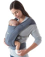 Ergobaby Embrace - Ergonomische draagzak voor pasgeborenen, ondersteunende heupriem voor een gelijkmatige gewichtsverdeling, compact, licht en gemakkelijk vast te maken - Oxford blauw