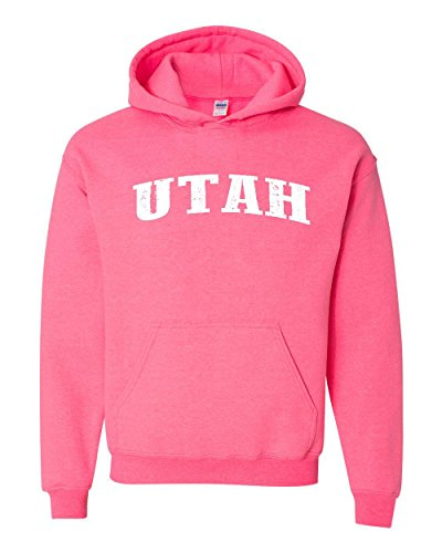 Ugo UT Utah Salt Lake City Map Home of Aggies Utes University of Utah Unisex Hoodie Sweatshirt (Aggies Scrub University)