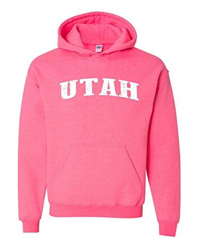 Ugo UT Utah Salt Lake City Map Home of Aggies Utes University of Utah Unisex Hoodie Sweatshirt (Aggies University Scrub)