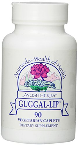Ayush Herbs Guggal Lip Herbal Supplement, 90 Count
