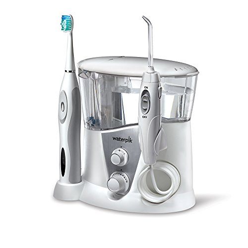 Waterpik WP-950 Complete Care 7.0 Water Flosser and Sonic Tooth (Waterpik Sonic Toothbrush)