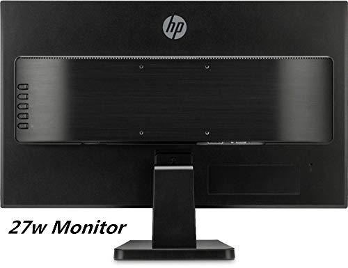 "HP 27w 27"" Performace Anti-Glare IPS LED Monitor | Full HD 1920 x 1080 | 16:9 Ratio | HDMI+VGA Ports | 178-degree Range | 1,000:1 Typical | 5 ms Response"
