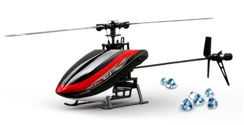 (Walkera Master CP Flybarless 6-Axis-Gyro Brushed 2.4G 6CH 3D RC Helicopter w/ DEVO7 TX Lipo & Charger RTF )