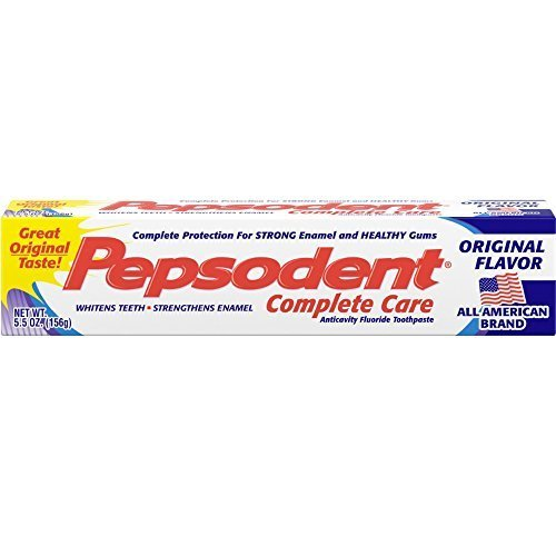 (Pepsodent Complete Care Toothpaste Original Flavor 5.5 oz (Pack of 12))