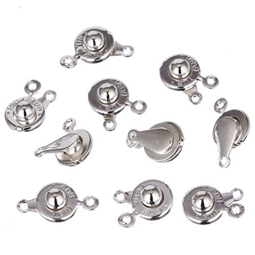 Snap Fastener - 20pcs Lot 2 Color 9mm Buttons Letter Metal Snap Fasteners Press Studs Kit Sewing - Repair Screw Jeans Pearl Dritz For Grommets Canvas Pants Stud