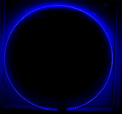 LED Hula Hoop - 160 LEDs 90cm 300 Different Patterns - Speed Adjustment - Wireless Remote - Perfect for Festivals and Rave by Rave Raptor (Image #5)