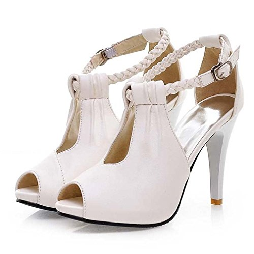 Womens Ankle 4 10 5 Leather Sandal