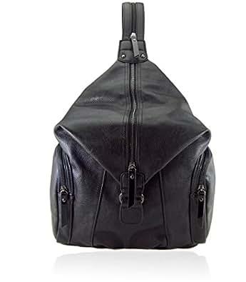 88 Joanne Black Convertible Backpack