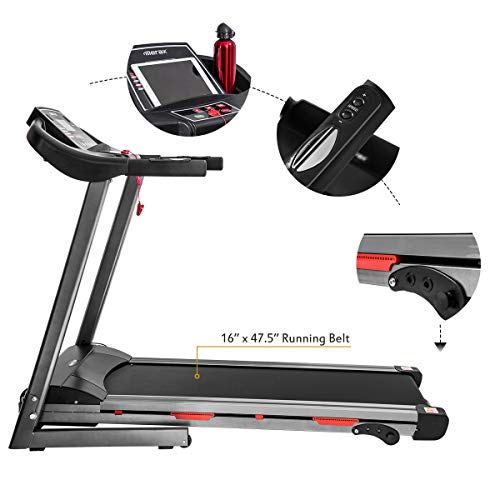 Merax Folding Treadmill for Home Use, Easy Assembly Compact Running Machine (1.5HP) 5