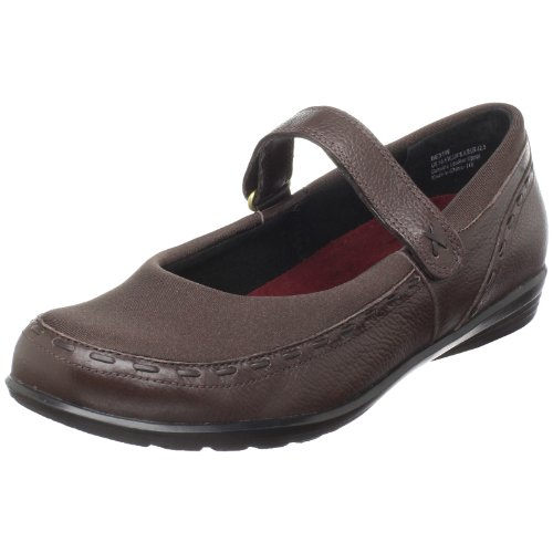 Aetrex Womens Berry Mary Jane Cocoberry