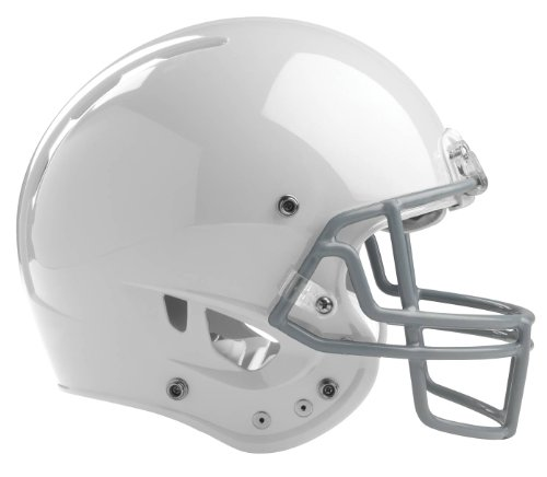 Rawlings Momentum Plus Football Helmet, Small, White