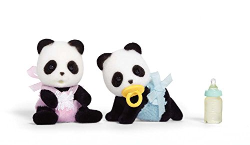 Calico Critters Wilder Panda Bear Twins