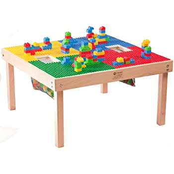 Marvelous HEAVY DUTY LARGE DUPLO TABLE With 2 Built In Lego Storage(patent)