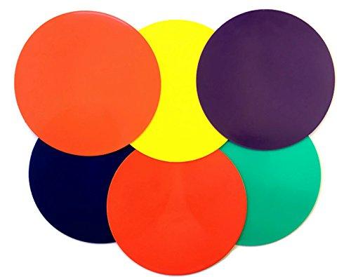 Playscene Training Cones - Set of 6 Multicolored 9