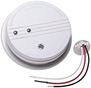 Kidde 1235 Ac Wired Smoke Alarm Smoke Detectors Amazon Com
