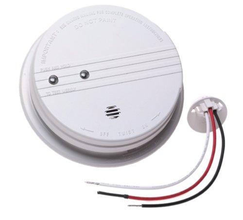 kidde 1235 ac wired smoke alarm smoke detectors amazon com