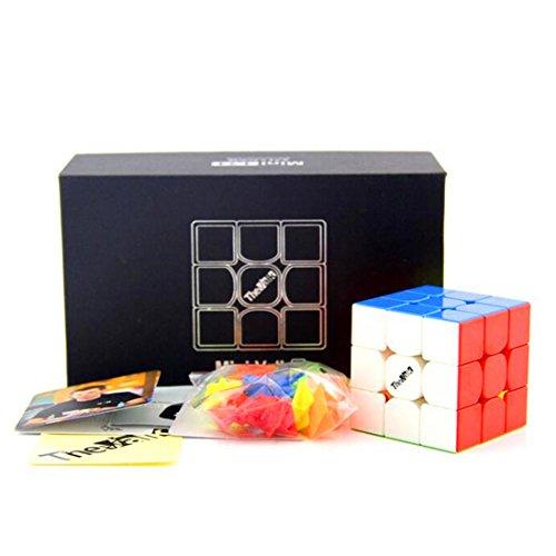 CuberSpeed QiYi Mini Valk 3 3x3x3 stickerless 4.74cm Magic cube QiYi MoFangGe Mini The Valk 3 3X3X3 Speed cube