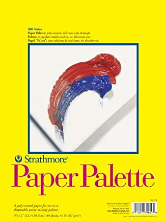 Strathmore 400 Series Bristol 2ply Vellum Surface Paper Pad 14 x 17 or 356mm x 178mm