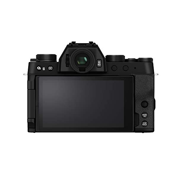 "RetinaPix Fujifilm X-T200 24.2 MP Mirrorless Camera with XC 15-45 mm Lens (APS-C Sensor, Electronic Viewfinder, 3.5"" Vari-Angle Touchscreen, Face/Eye AF, 4K Video Vlogging, Film Simulations) - Black"