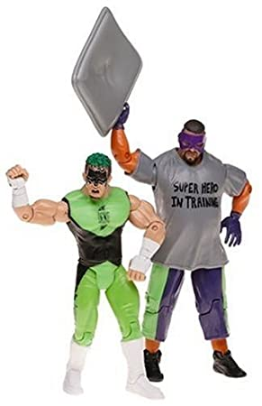 Amazon.com: WWE Adrenaline Series 6 2-Pack Figures: Hurricane and Rosey: Toys & Games